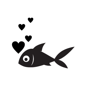Cute Fish Clip Art Black And White | Clipart Panda - Free ...