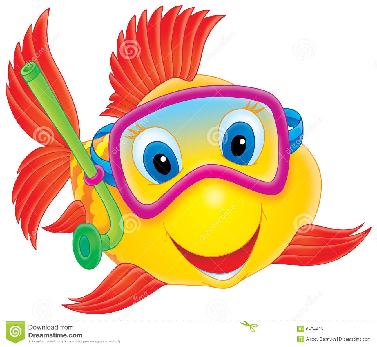 free clip art funny fish - photo #40
