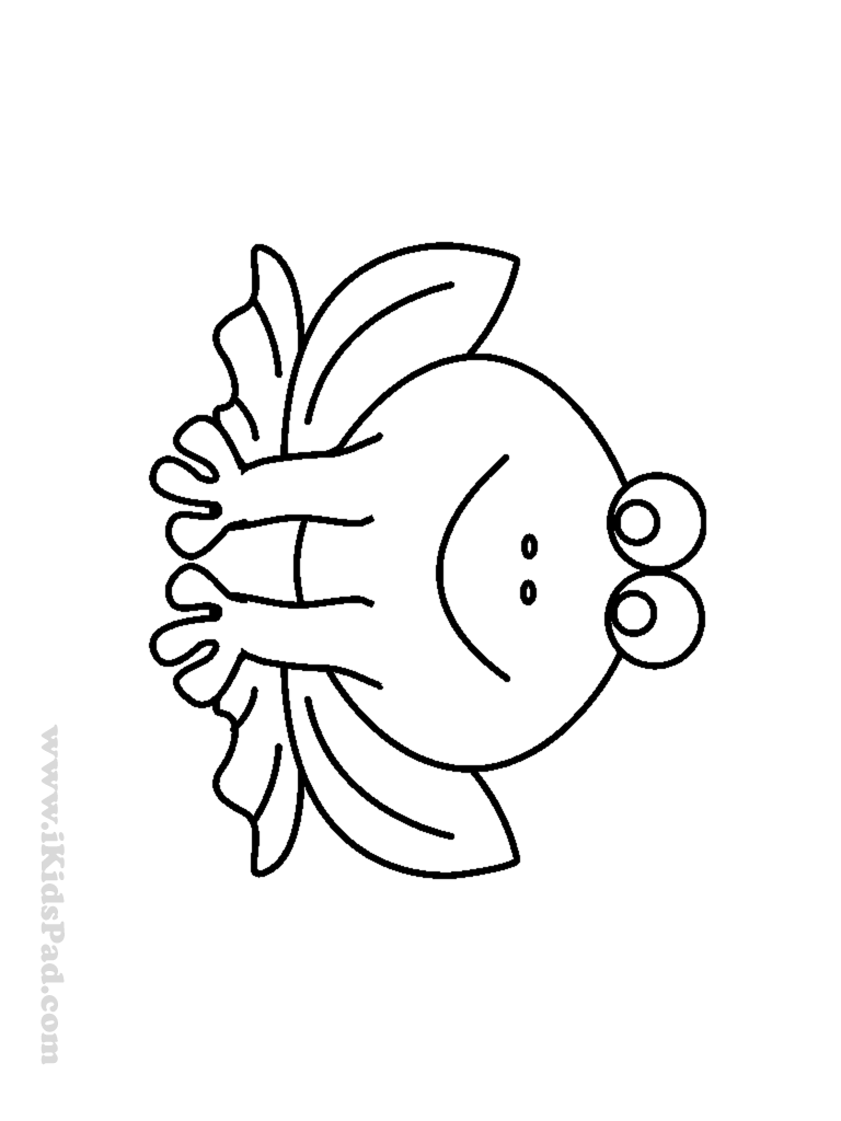 Cute Frog Coloring Pages | Clipart Panda - Free Clipart Images