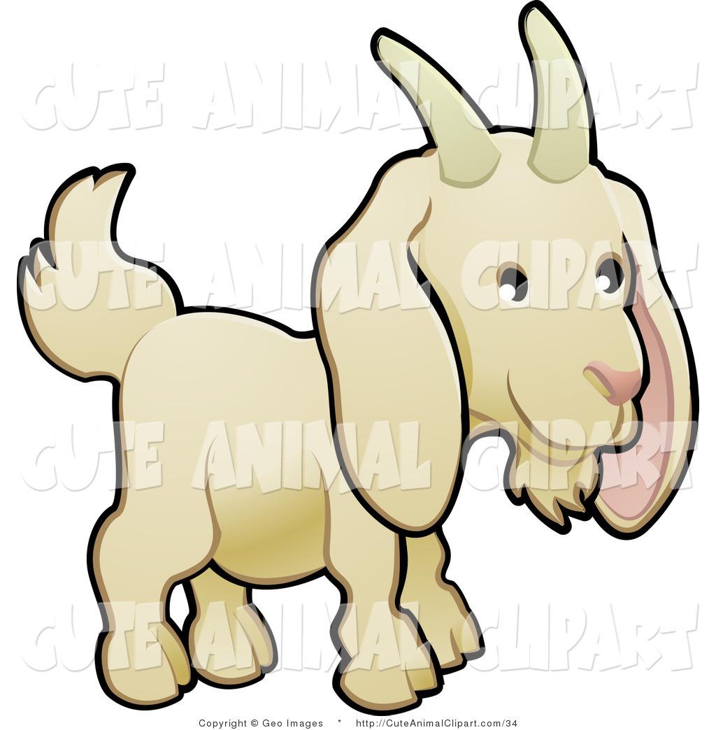 Vector Clip Art of a Cute Goat | Clipart Panda - Free ...