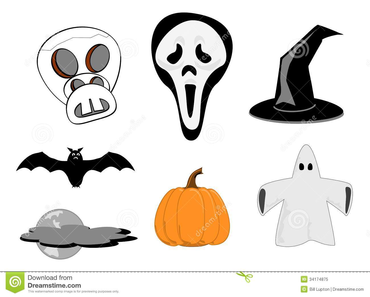 Cute Halloween Ghost Clip Art | Clipart Panda - Free Clipart Images
