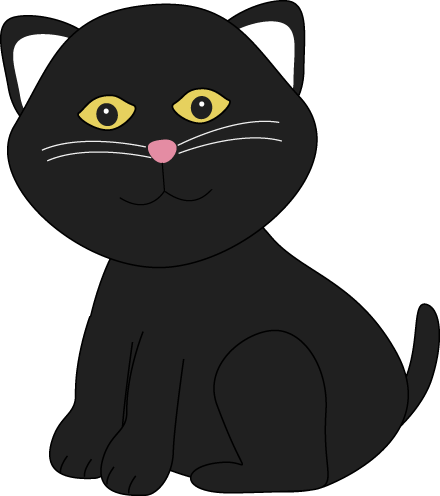 Kitty Clipart Black And White | Clipart Panda - Free Clipart Images