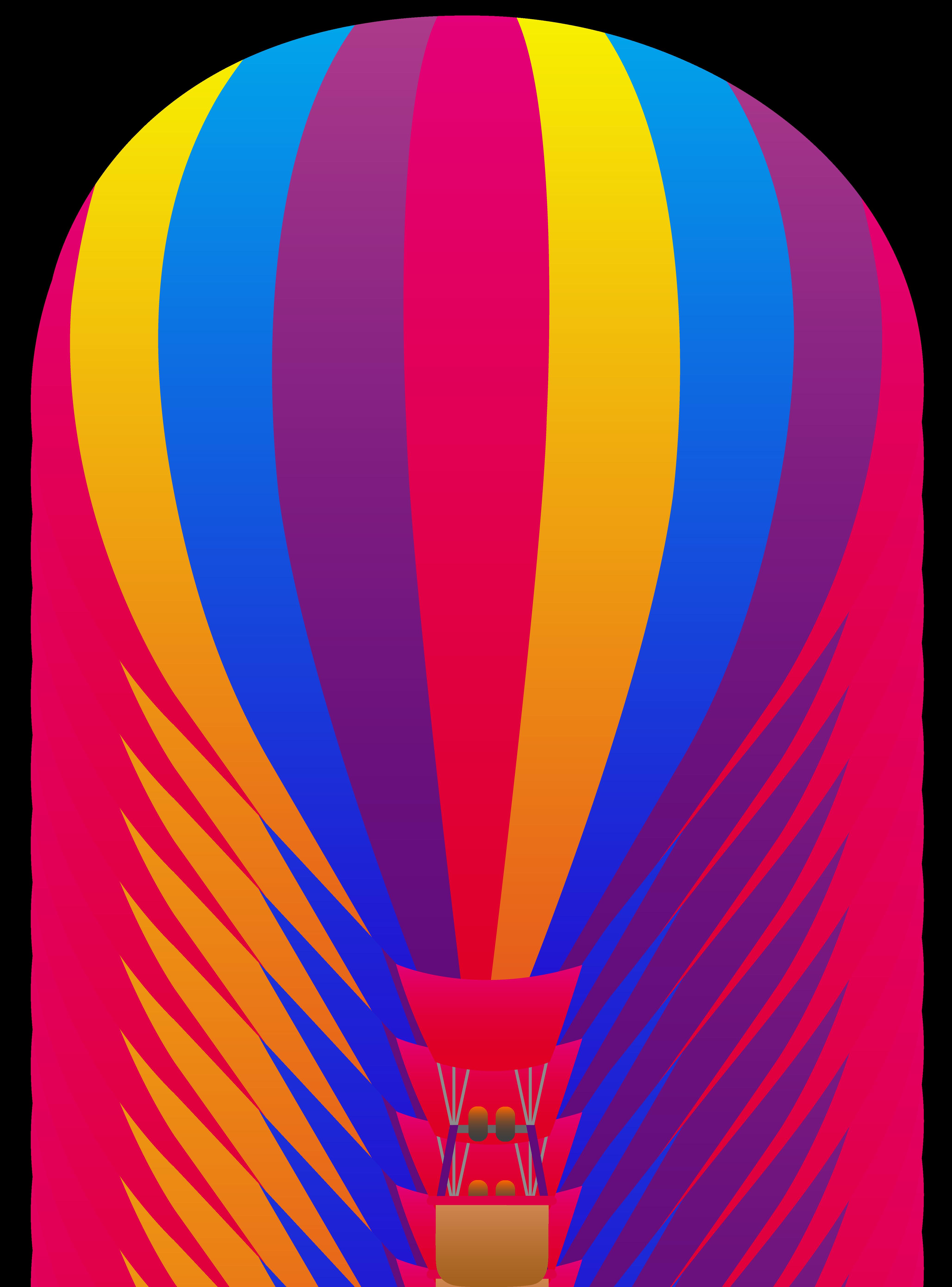 Cute Hot Air Balloon Clip Art