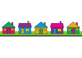 cute house clipart clipart panda free clipart images rh clipartpanda com  row of houses clipart black and white