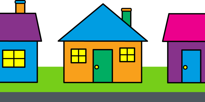 clipart clip cliparts houses homes cute qualities clipartcow arts neighborhood colorful clipartix nice library these projects advertisement