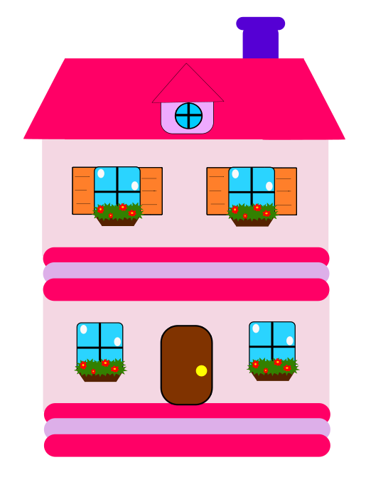 Cute House Clipart | Clipart Panda - Free Clipart Images