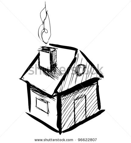 Cute house drawing clipart panda free clipart images for Cute house images