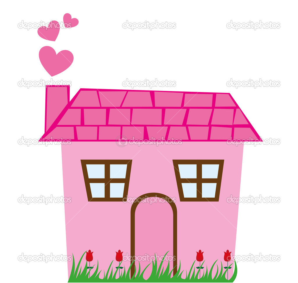 Cute house illustration clipart panda free clipart images for Photos of cute houses