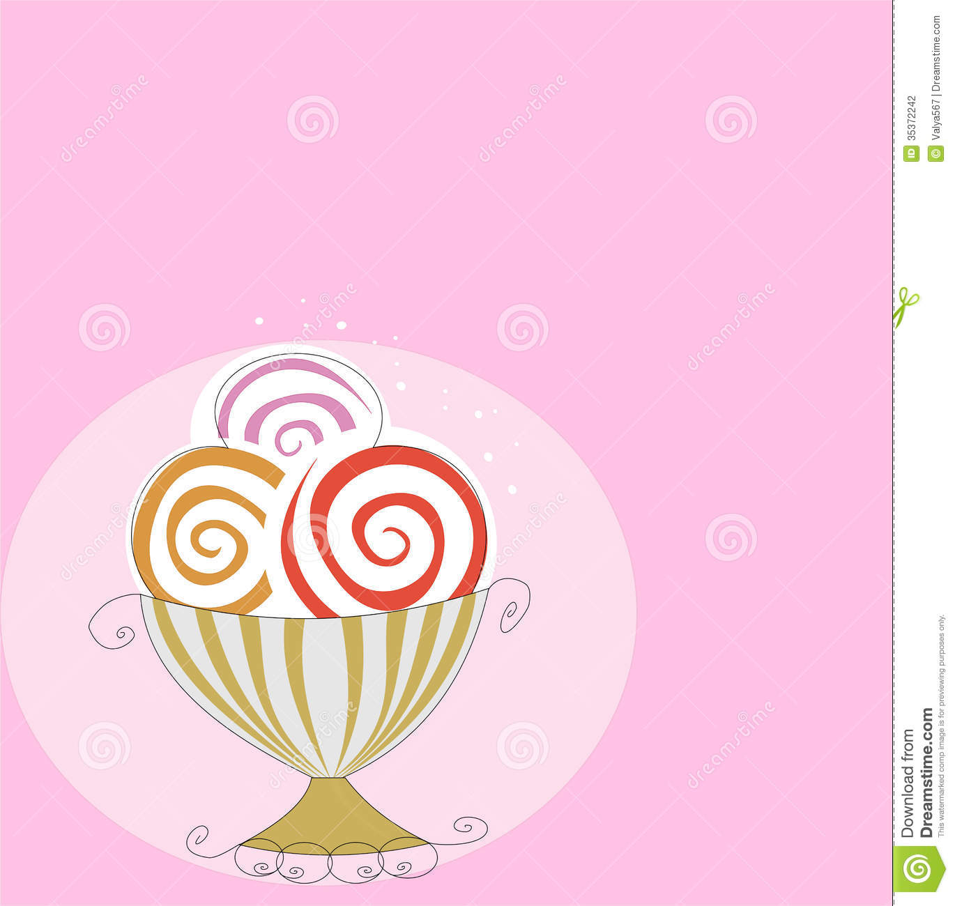 Background Of Cute Ice Cream With Phrase Vector: Clipart Panda - Free Clipart