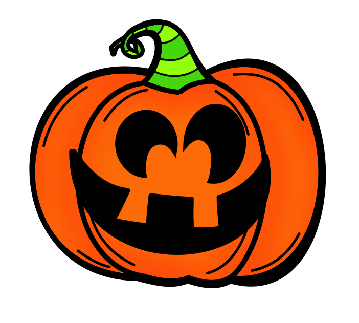 happy halloween games jack o-lanterns clipart