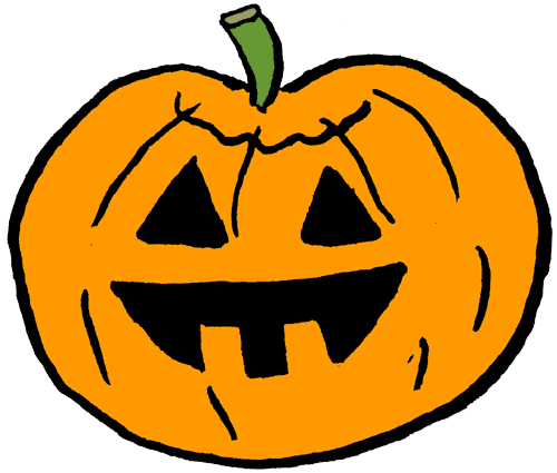 jack o lantern faces clip art - photo #25