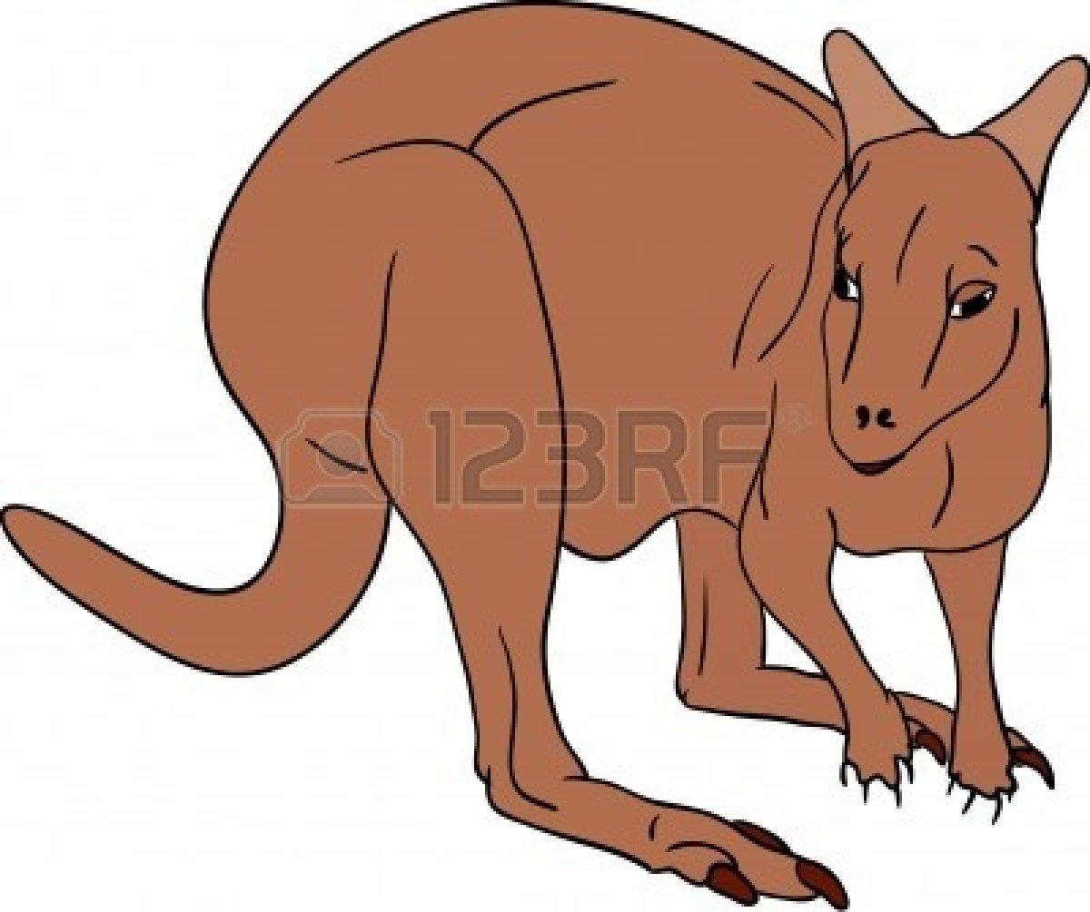 vector - brown kangaroo | Clipart Panda - Free Clipart Images