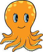 Cute Octopus Clipart | Clipart Panda - Free Clipart Images