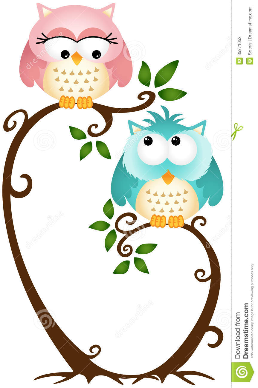 Cute Owl On Tree Clipart | Clipart Panda - Free Clipart Images