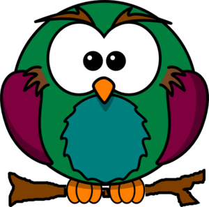 Cute Owl On Tree Clipart   Clipart Panda - Free Clipart Images
