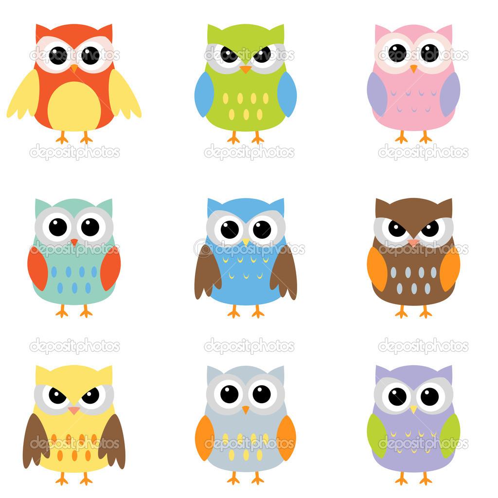 Color owls clip art - Stock | Clipart Panda - Free Clipart ...