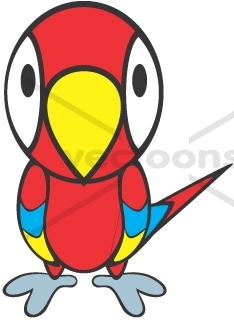 Cute Parrot Clipart | Clipart Panda - Free Clipart Images