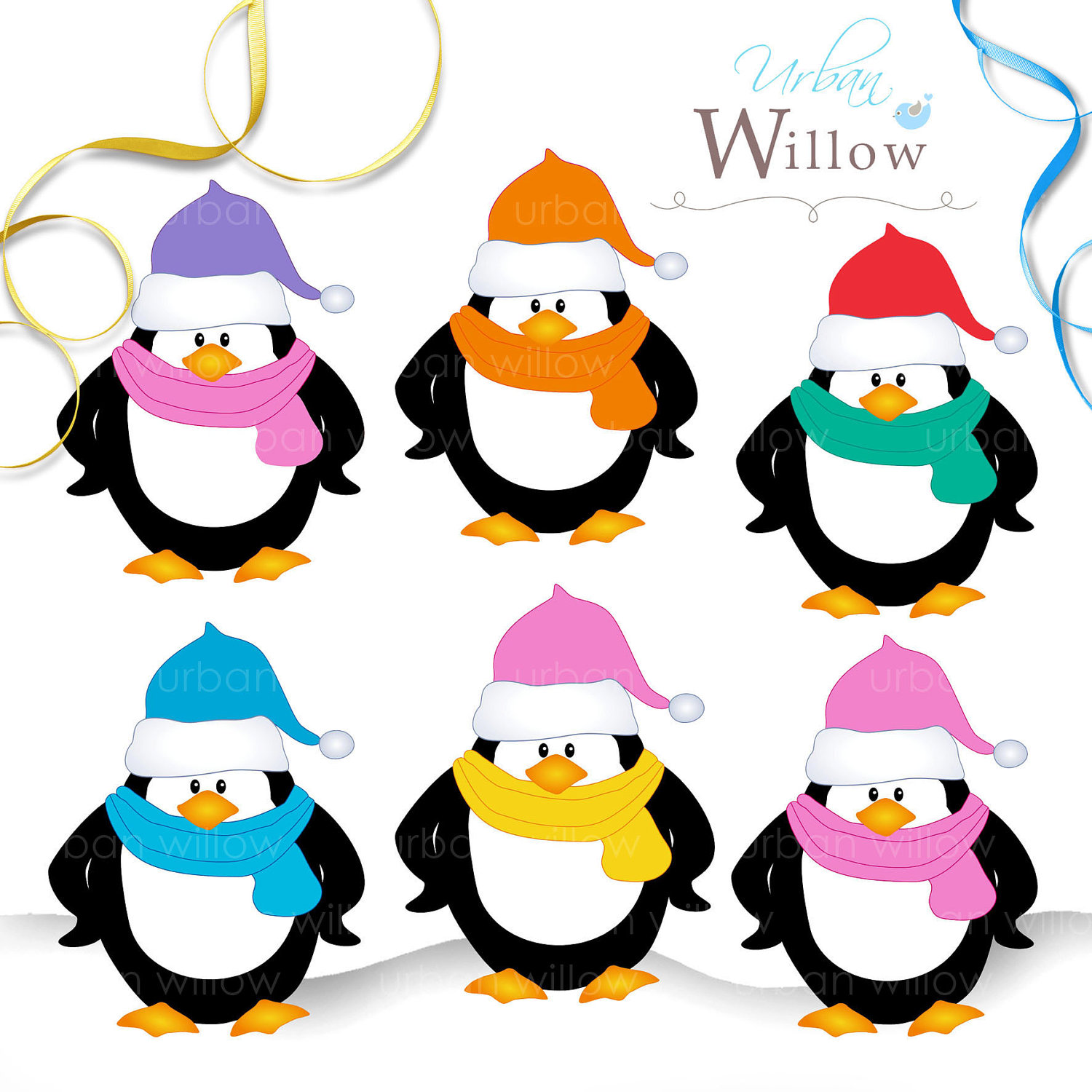 Christmas Penguin Clipart Clipart Panda Free Clipart