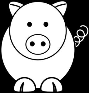 Pig Face Coloring cute 20pig 20face 20clip 20art