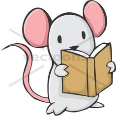 Gallery For > Cute Animal Reading Clipart