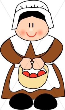 Cute Pilgrim Clipart | Clipart Panda - Free Clipart Images