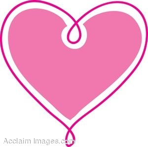 Cute Pink Heart Clipart | Clipart Panda - Free Clipart Images