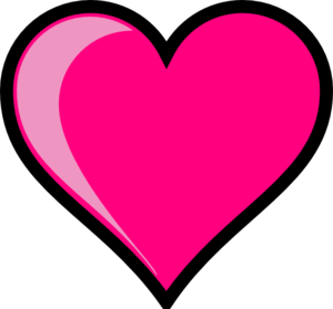 Cute Pink Heart Clipart   Clipart Panda - Free Clipart Images