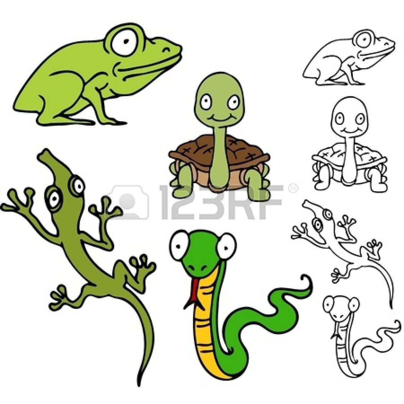 snake clip art : An image of a | Clipart Panda - Free ... Cute Reptiles Clipart