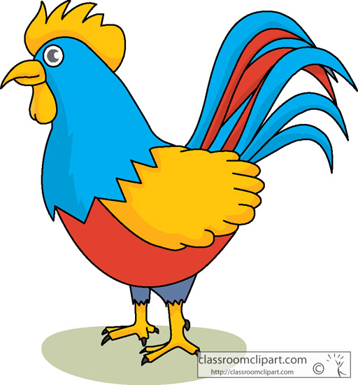 Cute Rooster Clipart  ...