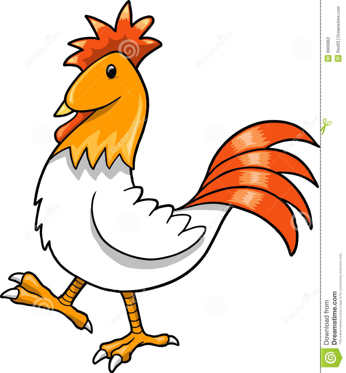 Roosters Clipart Cute ...