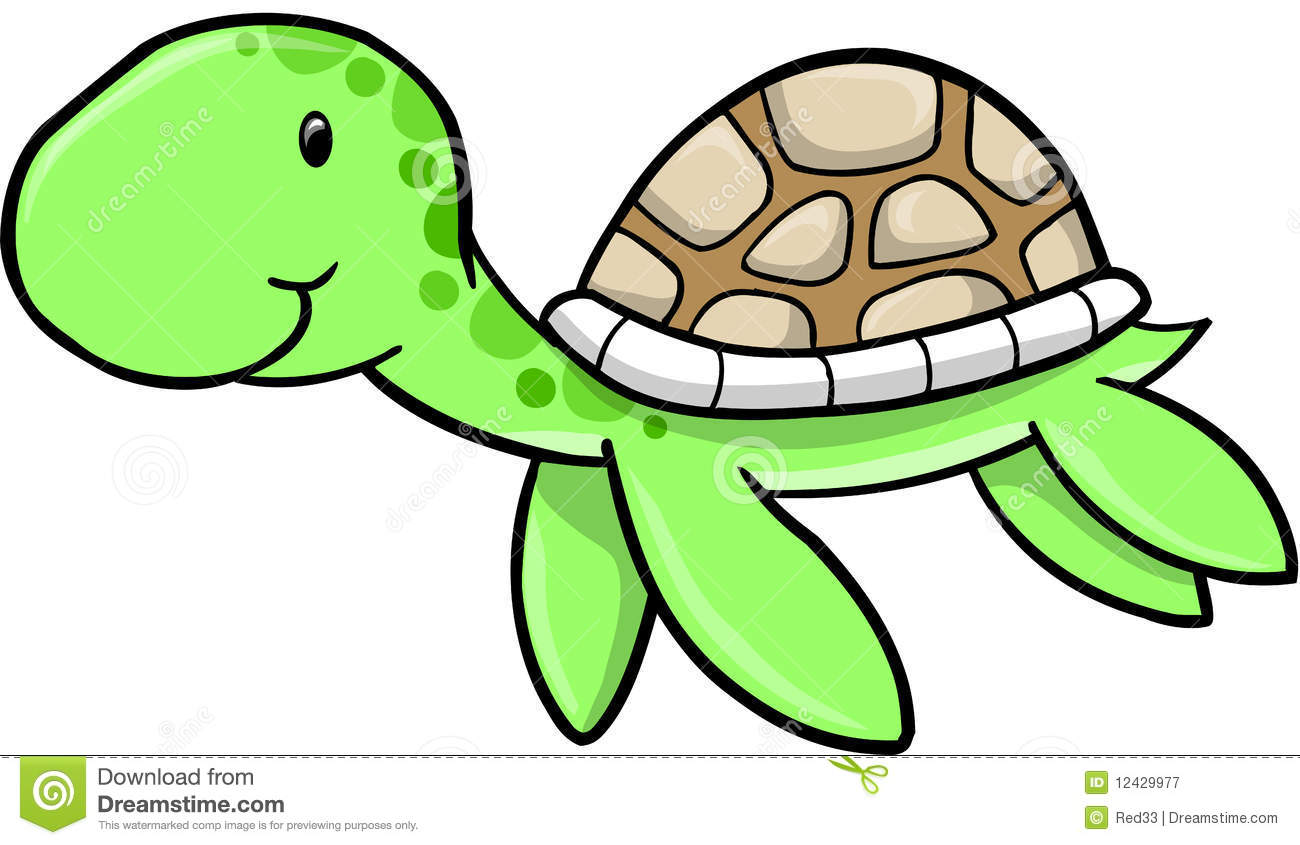 Cute Sea Turtle Clipart | Wallpapers Gallery