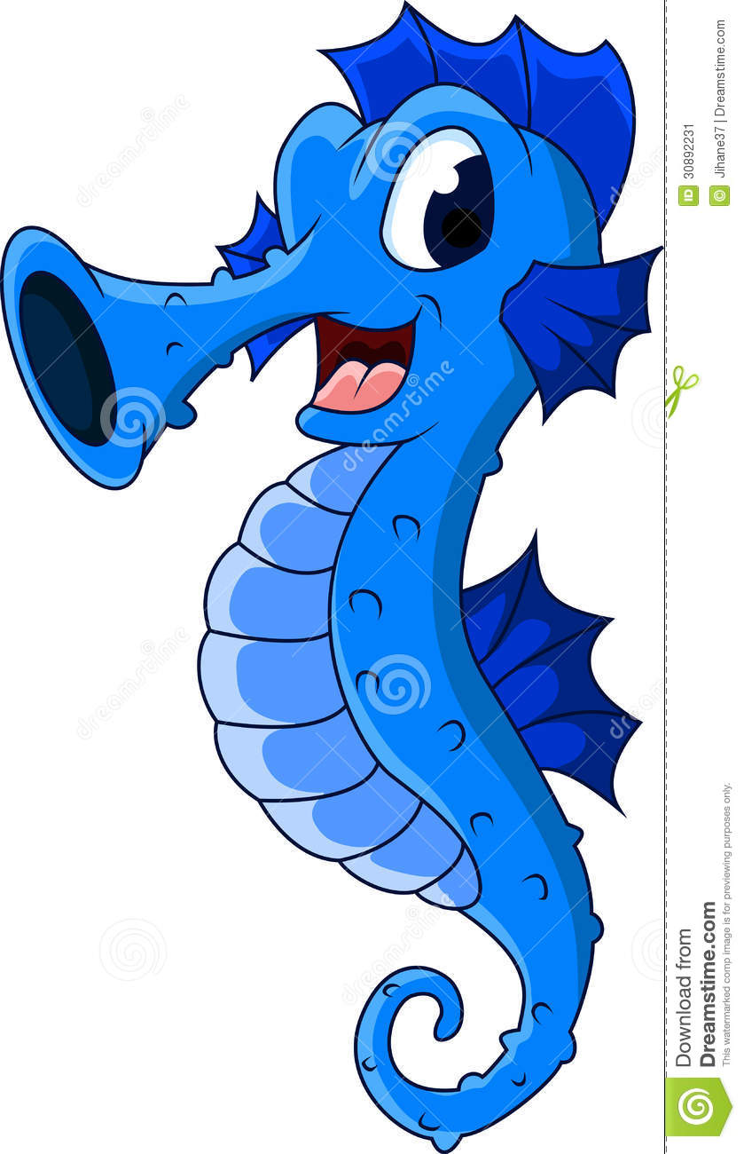 Cute Seahorse Clipart | Clipart Panda - Free Clipart Images