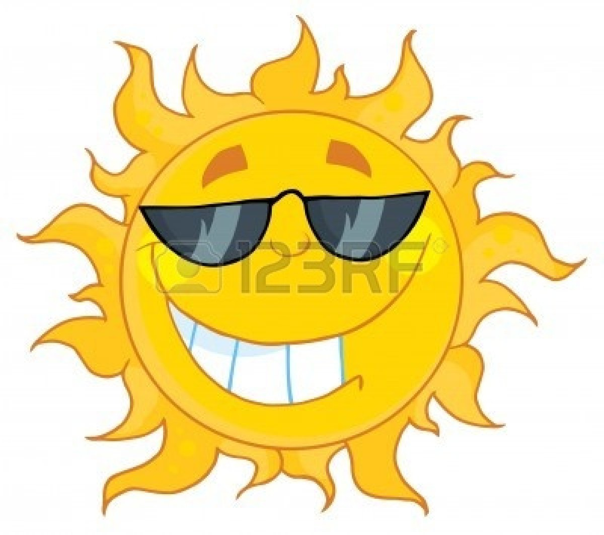 Cute Smiling Sun | Clipart Panda - Free Clipart Images