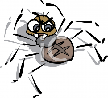 Spider clipart for kids - photo#24