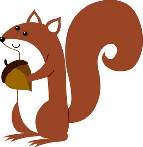 Squirrel Running Clipart | Clipart Panda - Free Clipart Images