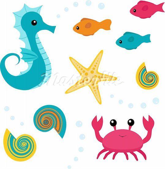 Cute starfish clip art clipart panda free clipart images - Clip art animali marini ...