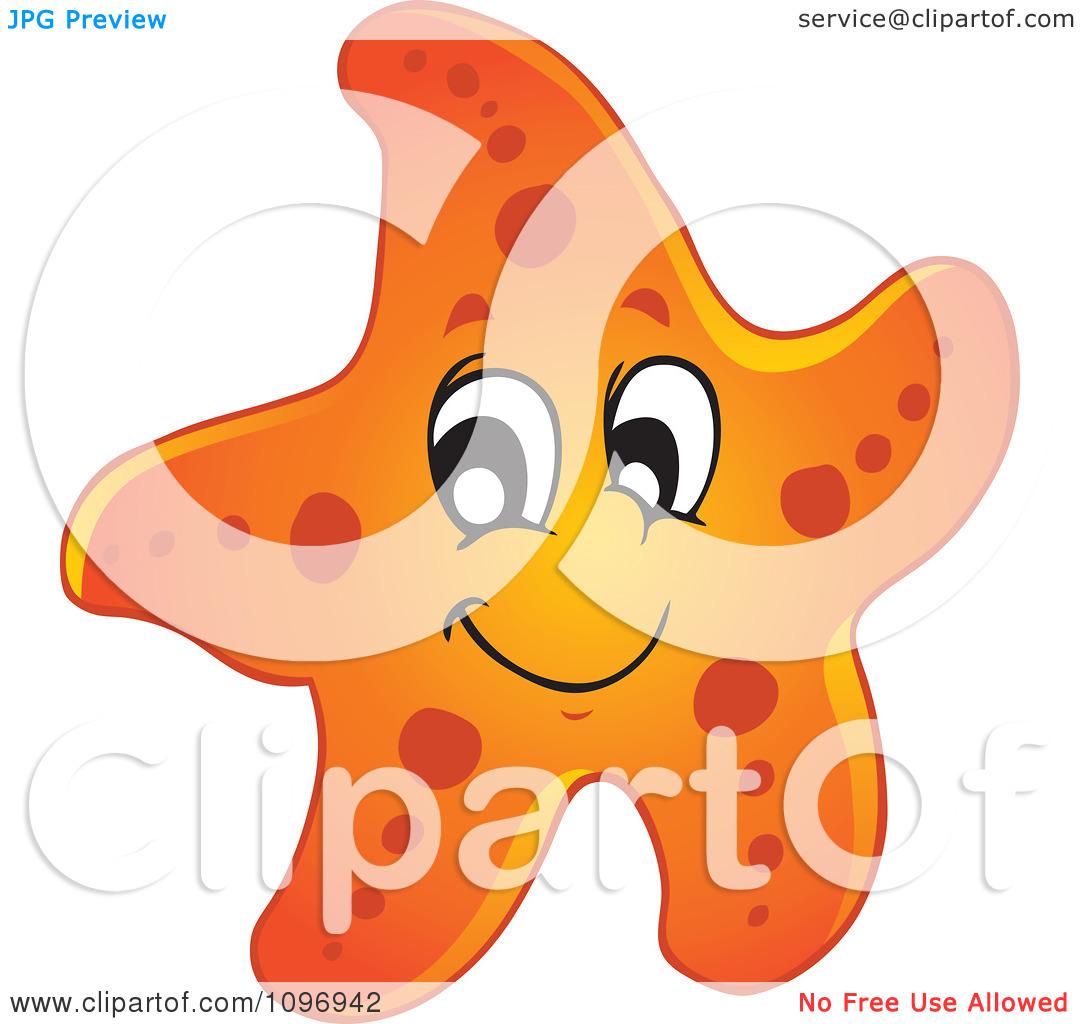 cute-starfish-clipart-Clipart-Happy-Orange-Starfish-Royalty-Free    Clipart Starfish