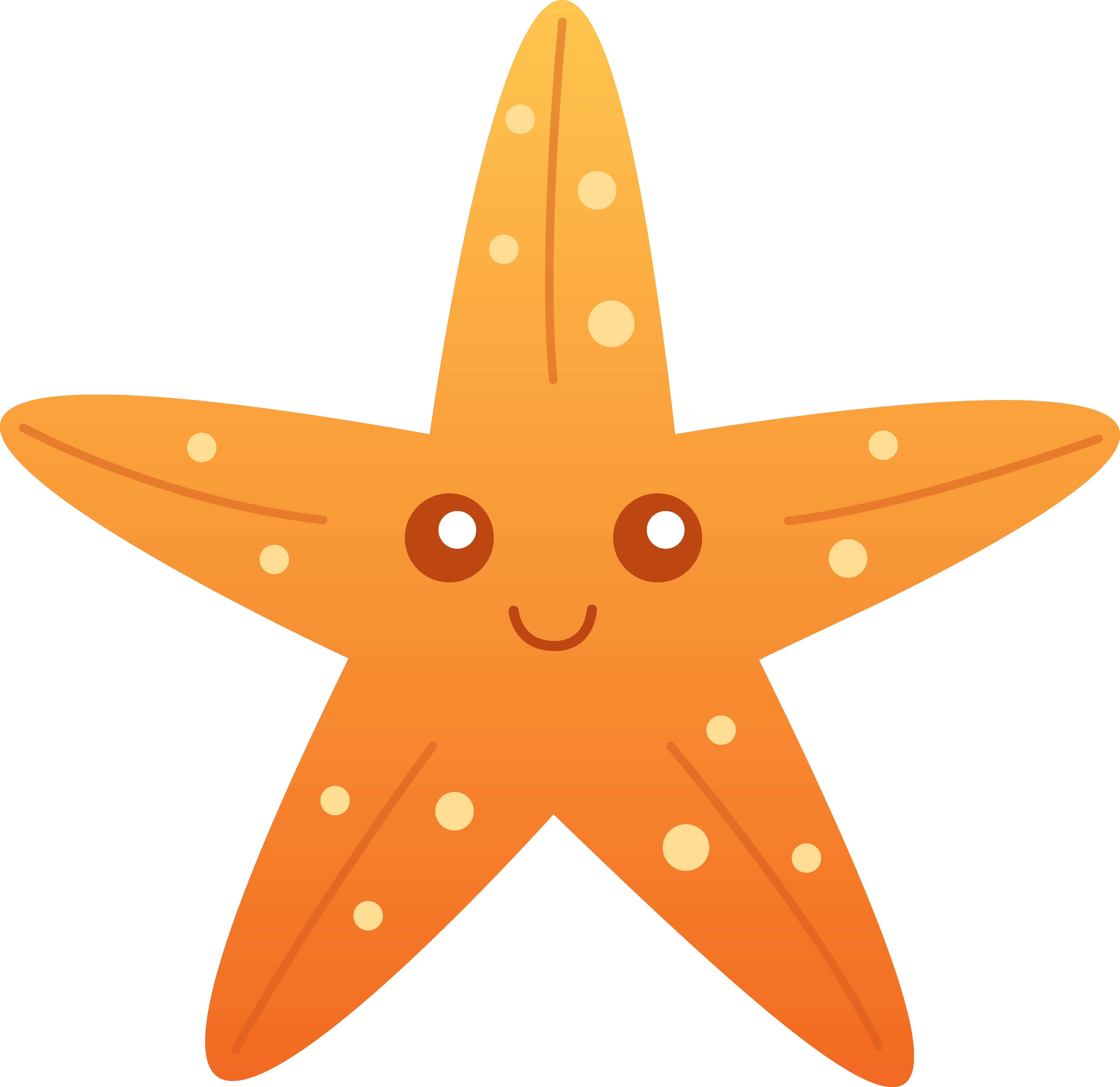 Cute starfish clipart clipart panda free clipart images for Free online drawing