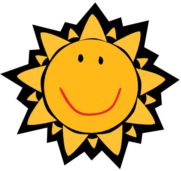 Cute Sun With Sunglasses Clipart | Clipart Panda - Free ...