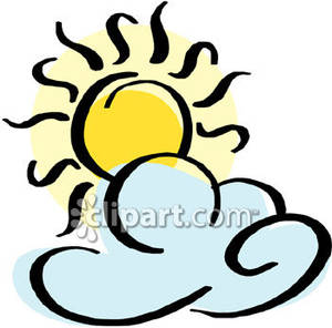 Sun And Clouds Clip Art | Clipart Panda - Free Clipart Images