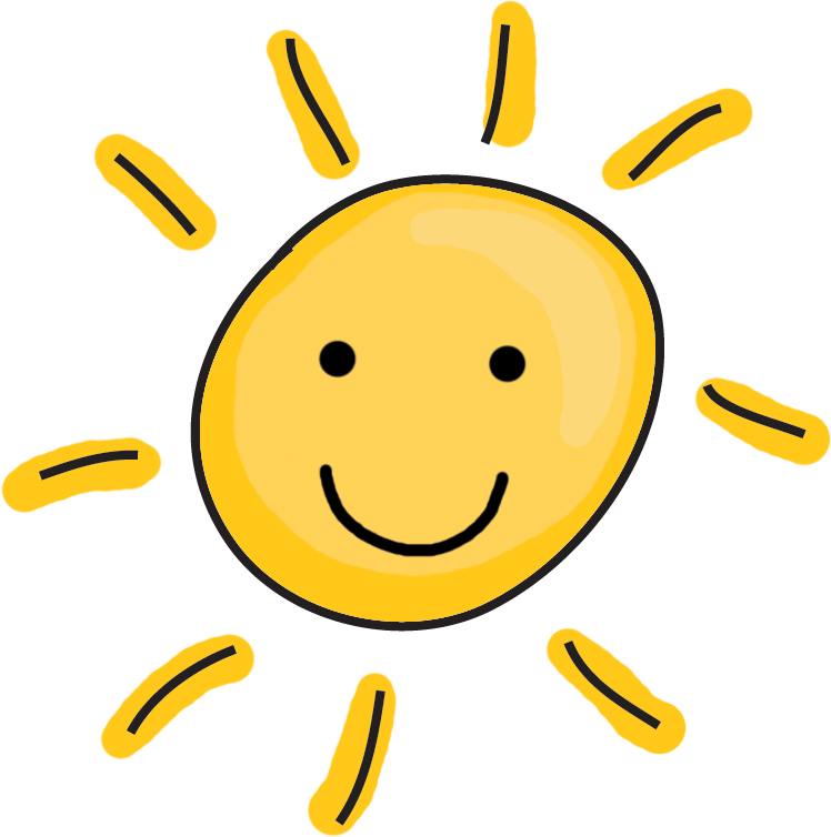 Half Sun Clip Art on Sunlight Worksheet Kindergarten