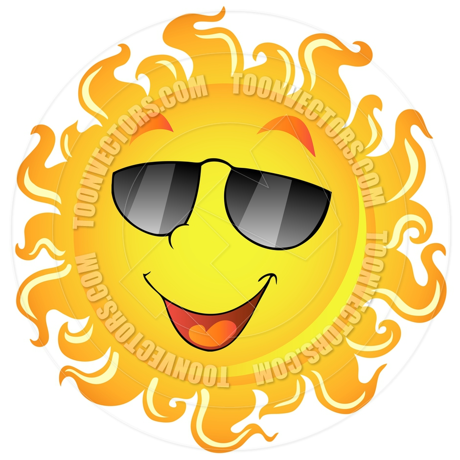 Clip Art Sun With Sunglasses | www.imgkid.com - The Image ...