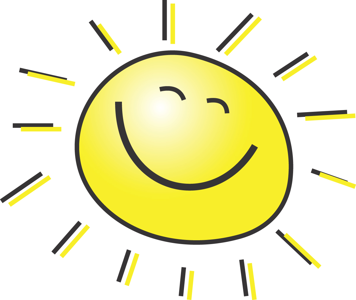 cute clipart thank summer sun clip clipartpanda happy today smiling sunshine smile teachers parents panda terms smiles