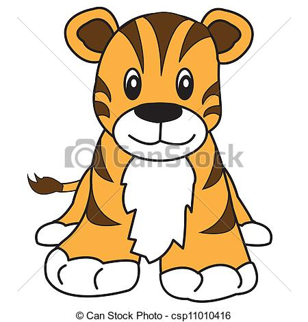 Cute Tiger Clip Art | ...