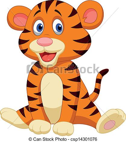 Cute Tiger Clip Art | ...