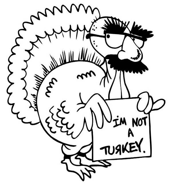 Cute turkey coloring pages clipart panda free clipart for Thanksgiving coloring pages that you can print