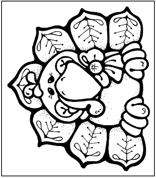 Cute Turkey Coloring Pages | Clipart Panda - Free Clipart Images