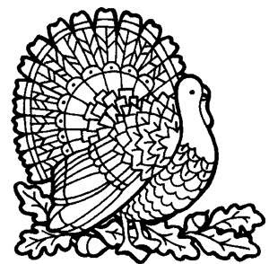cute thanksgiving turkey coloring pages - photo#33
