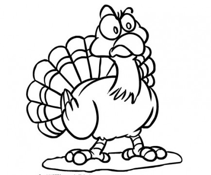 cute thanksgiving turkey coloring pages - photo#11