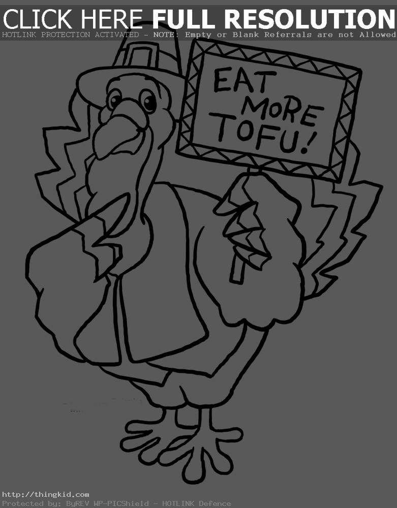 fun turkey coloring pages - photo#29